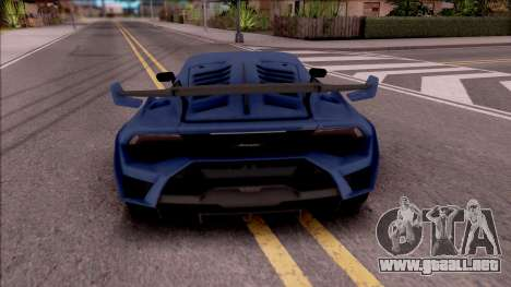 Lamborghini Huracan STO 2020 para GTA San Andreas