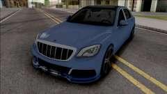 Mercedes-Maybach S650 Brabus Rocket 900 Blue para GTA San Andreas