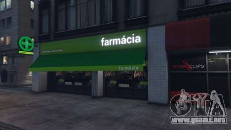 GTA 5 Portuguese Pharmacies