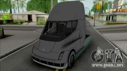 Tesla Semi para GTA San Andreas