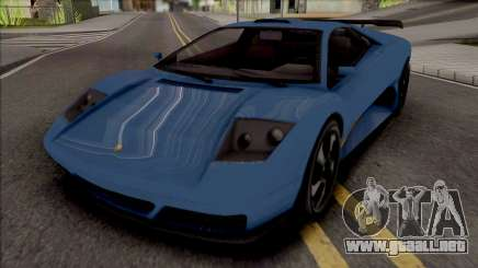 GTA V Pegassi Infernus Restructured [IVF] para GTA San Andreas