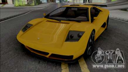 GTA V Pegassi Infernus Restructured para GTA San Andreas