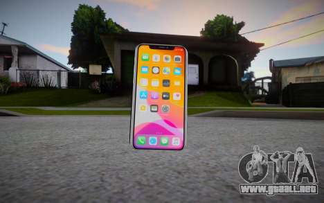 Iphone 11 Pro Max Cellphone para GTA San Andreas