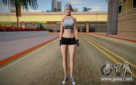 DOA6 Christie Energy Up Training Wear para GTA San Andreas