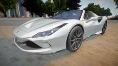 Ferrari F8 Tributo Spider para GTA San Andreas