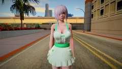 DOAXVV Luna Sweety Valentines Day para GTA San Andreas