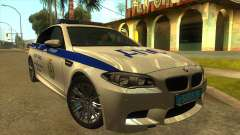 BMW M5 F10 GIBDD para GTA San Andreas