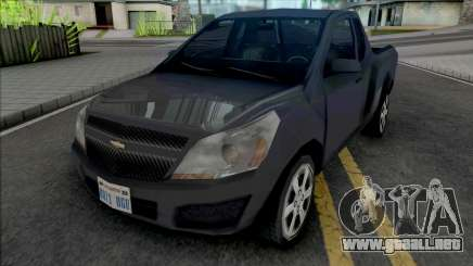 Chevrolet Montana LS 2014 Improved para GTA San Andreas