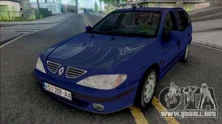 Renault Megane Break 2000 para GTA San Andreas