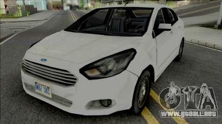 Ford Ka Sedan 2015 Improved para GTA San Andreas