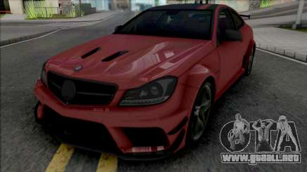 Mercedes-Benz C63 AMG Black Series (CSR Racing) para GTA San Andreas