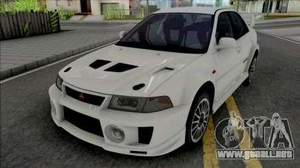 Mitsubishi Lancer Evolution V RS Edited para GTA San Andreas