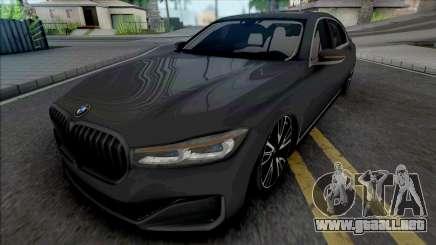 BMW 760Li Luxury para GTA San Andreas