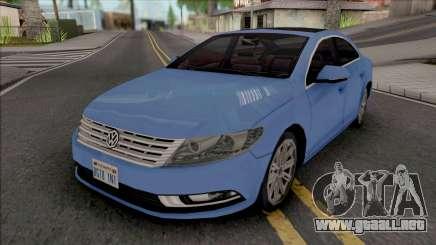Volkswagen Passat CC 2010 Improved para GTA San Andreas