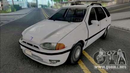 Fiat Palio Weekend 1997 Improved para GTA San Andreas