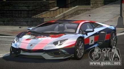 Lamborghini Aventador Qz7 L7 para GTA 4