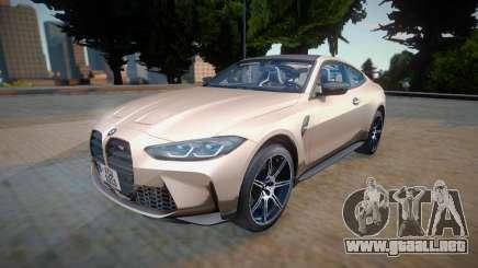 BMW M4 GTS (G82) 2021 para GTA San Andreas