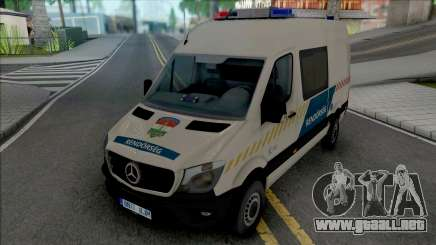 Mercedes-Benz Sprinter 2017 Hungarian Police para GTA San Andreas