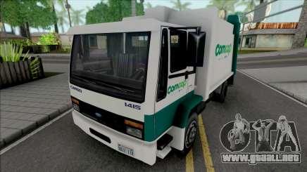 Ford Cargo 1415 Garbage Truck Comcap SC para GTA San Andreas