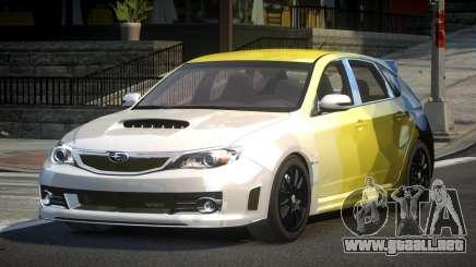 Subaru Impreza GS Urban L5 para GTA 4