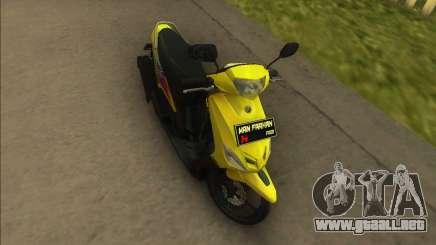 Yamaha Mio para GTA Vice City