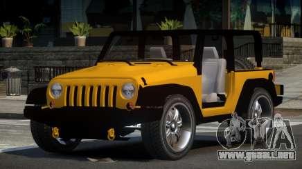 Jeep Wrangler 90S para GTA 4