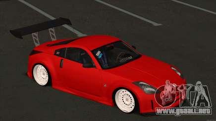 Nissan 350Z Low para GTA San Andreas