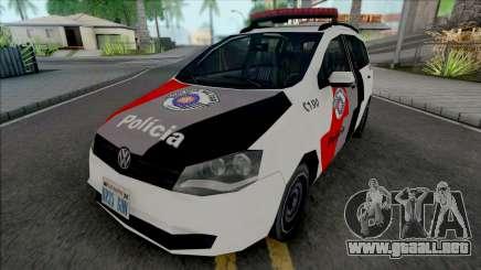 Volkswagen Spacefox 2012 PMESP para GTA San Andreas