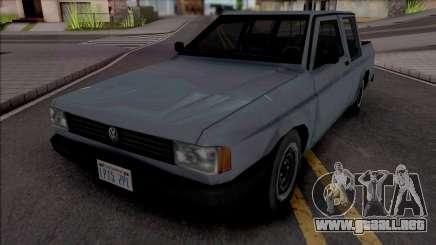 Volkswagen Saveiro 1989 Double Cabin para GTA San Andreas