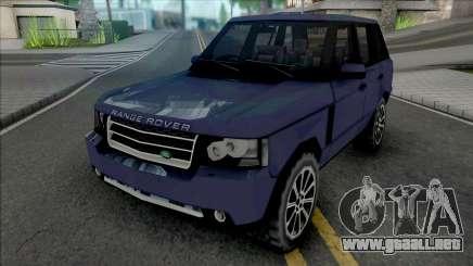 Land Rover Range Rover 2009 Improved v2 para GTA San Andreas
