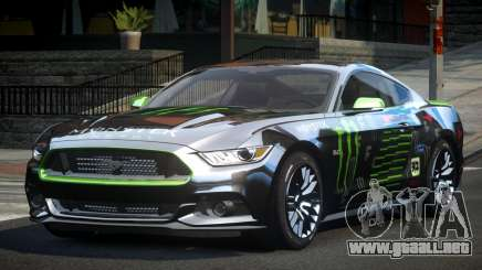 Ford Mustang GT U-Style L9 para GTA 4