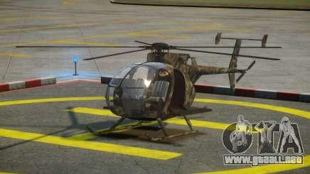Boeing MH-6M para GTA 4