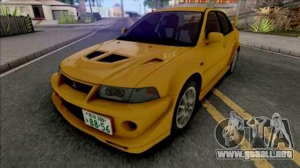 Mitsubishi Lancer Evolution VI GSR T.M.E Edited para GTA San Andreas