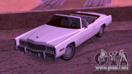 Cadillac Fleetwood Eldorado 1976 para GTA San Andreas
