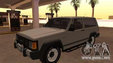 Envemo Camper 1990 (Versión editada) para GTA San Andreas