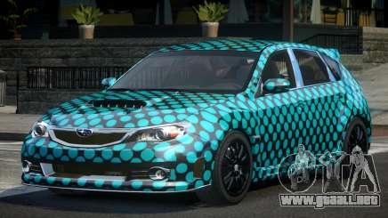 Subaru Impreza GS Urban L3 para GTA 4