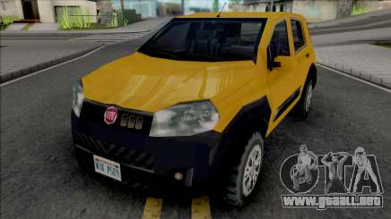 Fiat Uno Way 2011 para GTA San Andreas