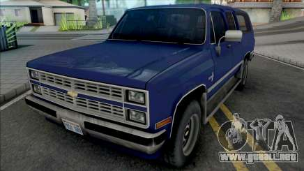 Chevrolet Suburban 1986 Improved para GTA San Andreas