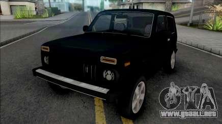 Lada Niva 2121 Black para GTA San Andreas
