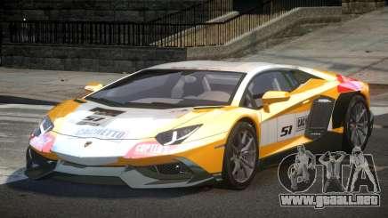 Lamborghini Aventador Qz7 L9 para GTA 4