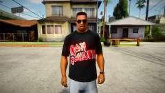 Iron Maiden T-Shirt (good textures) para GTA San Andreas