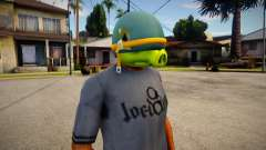 Coportal Pig Mask For Cj para GTA San Andreas