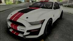 Ford Mustang Shelby GT500 2020 (SA Lights) para GTA San Andreas