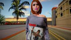 Lara Croft Skin para GTA San Andreas