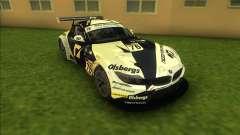 BMW Z4 GT3 para GTA Vice City