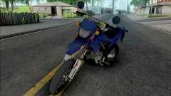 Kawasaki D-Tracker STD para GTA San Andreas
