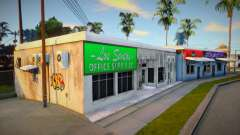 Winter Barber Shop para GTA San Andreas