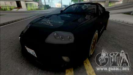 Toyota Supra Twins 1993 Black para GTA San Andreas