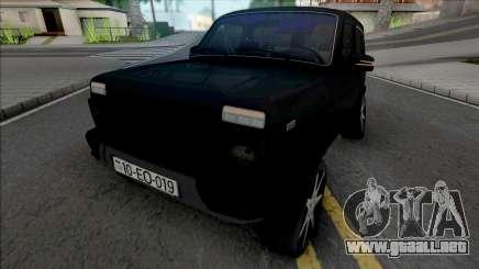 Lada Niva Urban (Boss 019) para GTA San Andreas