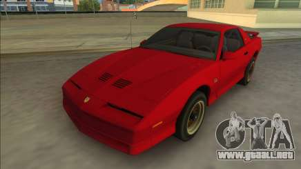 Pontiac Firebird Trans Am 1987 (HQ) para GTA Vice City